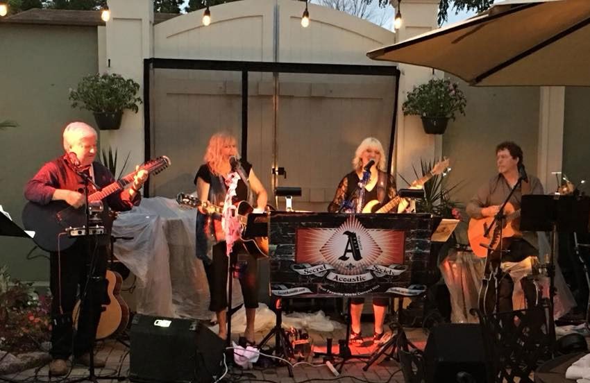The Secret Acoustic Society at Anvil Club, East Dundee, July 21, 2018.